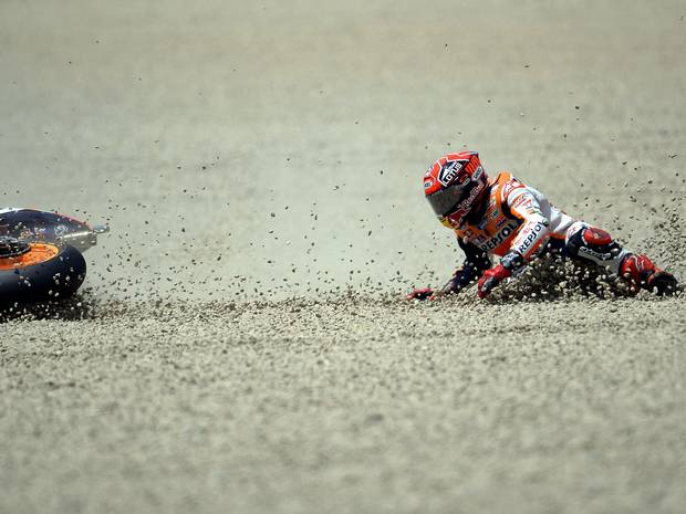 The Rapid Decline of Marc Marquez