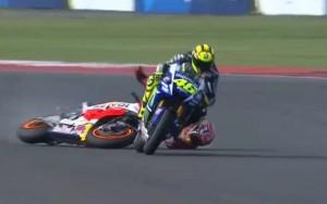 Rossi/Marquez at Argentina