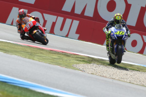 Rossi wins at Assen