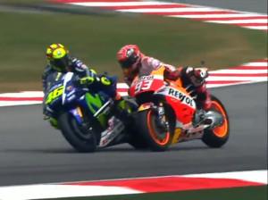 Marquez Rossi Clash